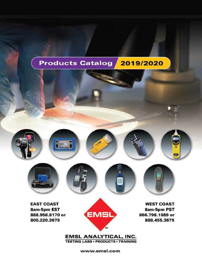 EMSL Products Catalog 2019