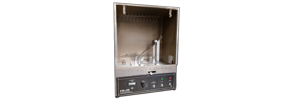 Inclined Flammability Chamber